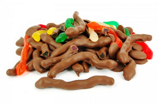 Chocolate Coated Snakes 150g 1