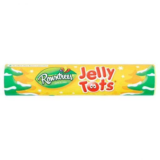 ROWNTREES JELLY TOTS GIANT TUBE 130g 1