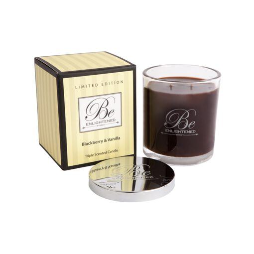 Blackberry and Vanilla Triple Scented Candle 1