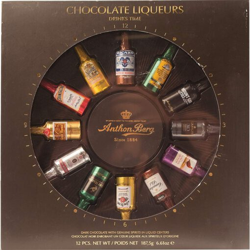 ANTHON BERG CHOCOLATE LIQUEURS 12PC BOX 187g 1